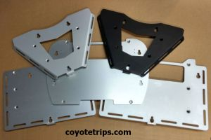 Top Case Adapter Plates
