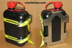 Motorcycle Fuel Can with Holder